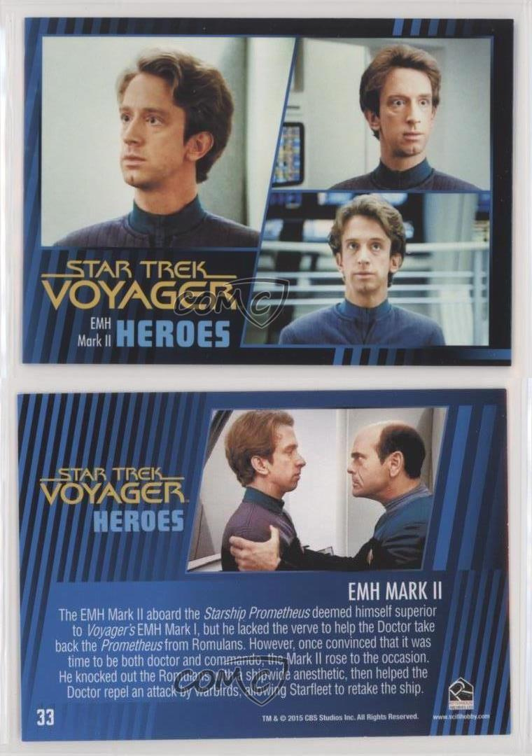 Star Trek TNG Heroes /& Villains Parallel Base Card #49