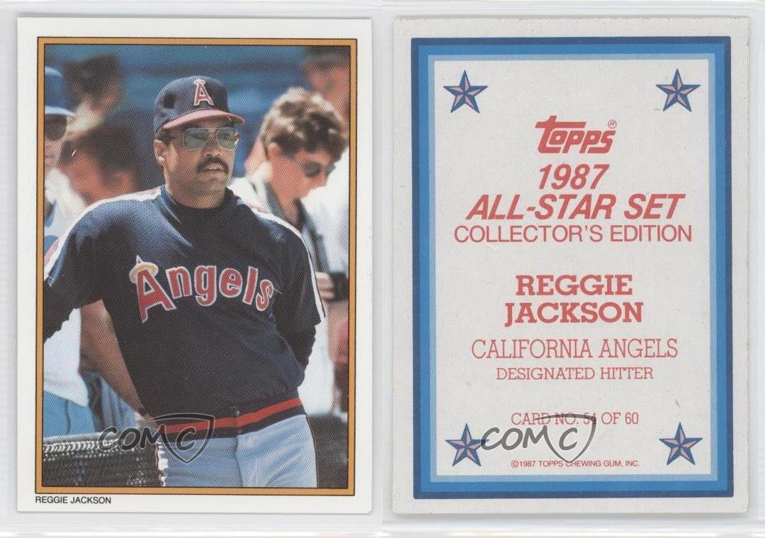 1987 Topps Mail In Glossy All Star Collector S Edition 54