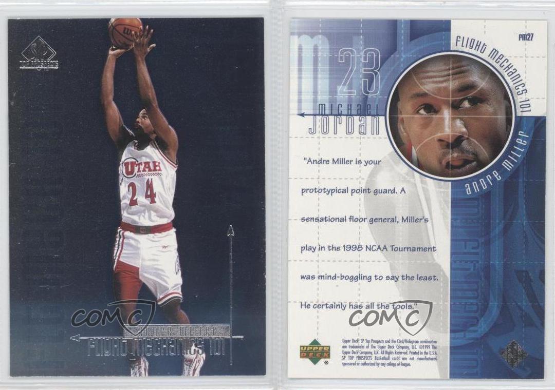 1999-SP-Top-Prospects-MJ-Flight-Mechanics-101-FM27-Andre-Miller-Michael-Jordan
