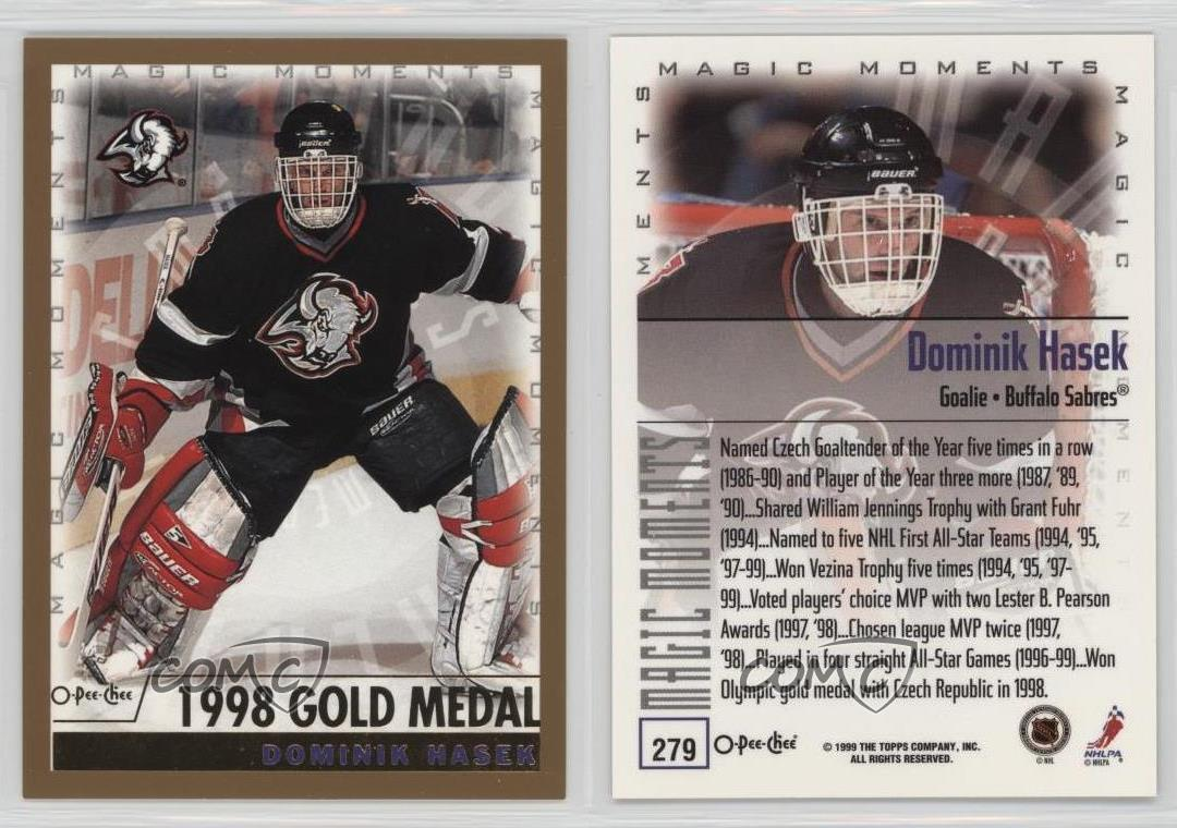 1999-00 Upper Deck #145 Dominik Hasek SP