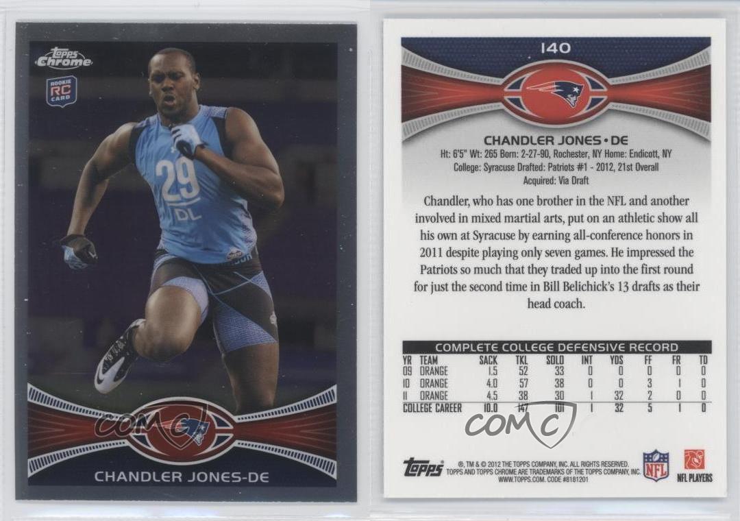 2012-Topps-Chrome-140-Chandler-Jones-New-England-Patriots-RC-Football-Card