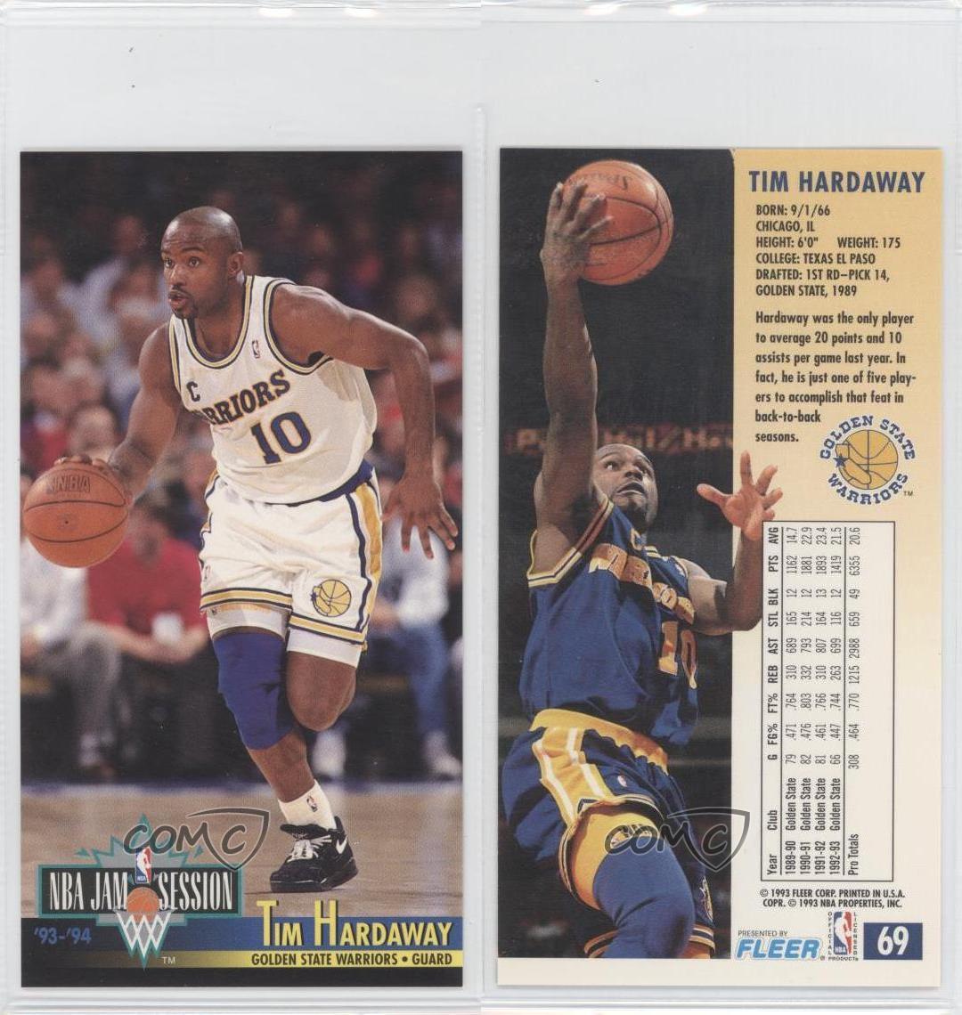 1993-94 NBA Jam Session #69 Tim Hardaway Golden State