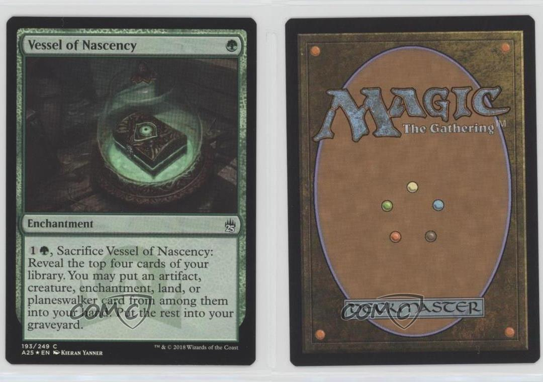 Masters 25 Mtg x4 4x A25 Magic Vessel of Nascency 193