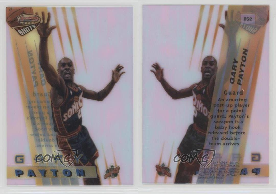 1996-97-Bowman-039-s-Best-Shots-BS2-Gary-Payton-Seattle-Supersonics-Basketball-Card