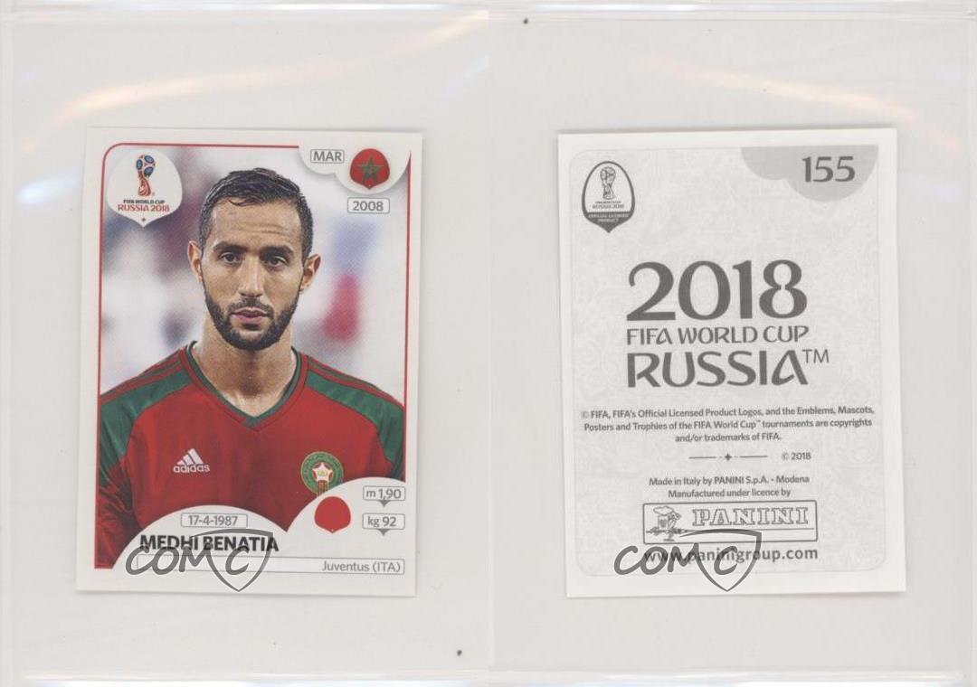 2018 Panini Prizm World Cup Green and Orange Wave #257 Medhi Benatia Morocco