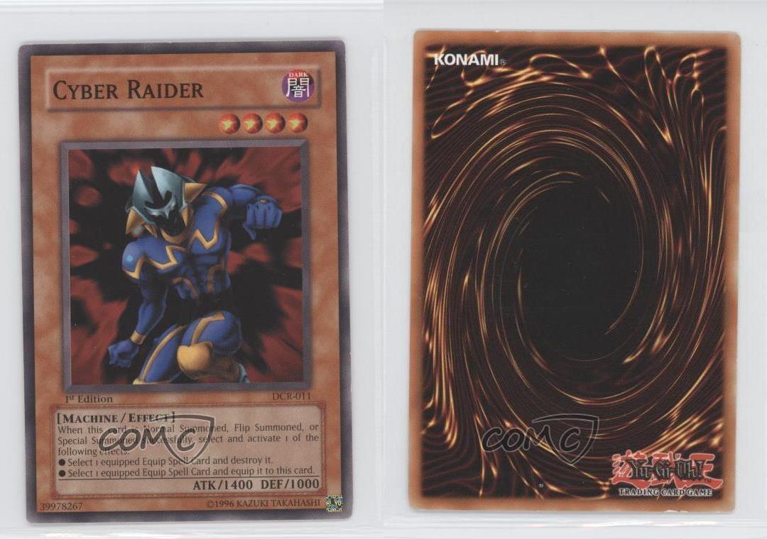 Cyber Raider (Tag Force 1) - Yugipedia - Yu-Gi-Oh! wiki
