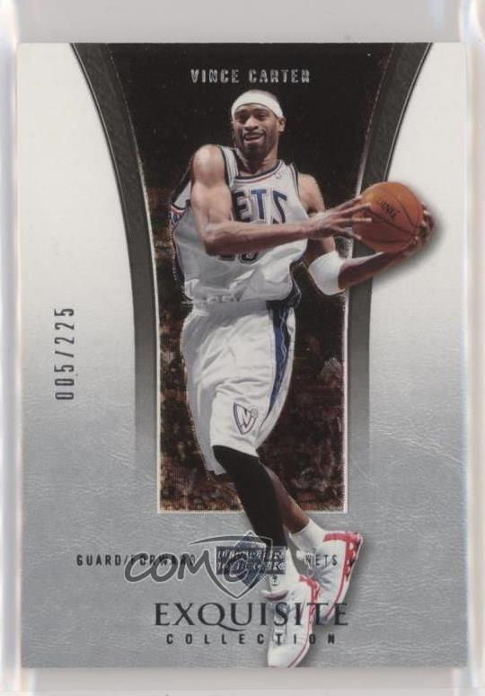 the best attitude add06 7cb24 Details about 2004 Upper Deck Exquisite Collection/225 #23 Vince Carter New  Jersey Nets Card