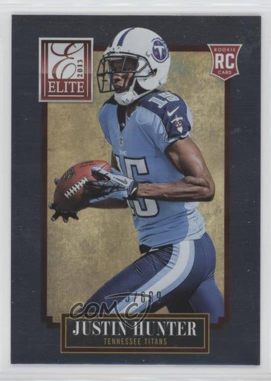 2013 Panini Elite #148 Justin Hunter Tennessee Titans Rookie  for cheap