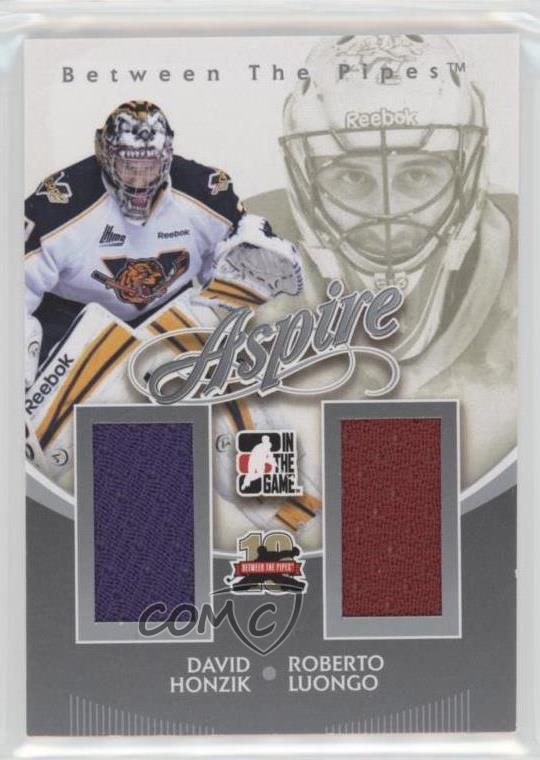 2011 In The Game Between Pipes Aspire Silver As 21 Roberto Luongo
