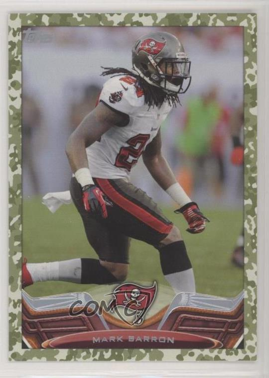 new product db144 f49b6 Details about 2013 Topps Military Border/399 #86 Mark Barron Tampa Bay  Buccaneers Card