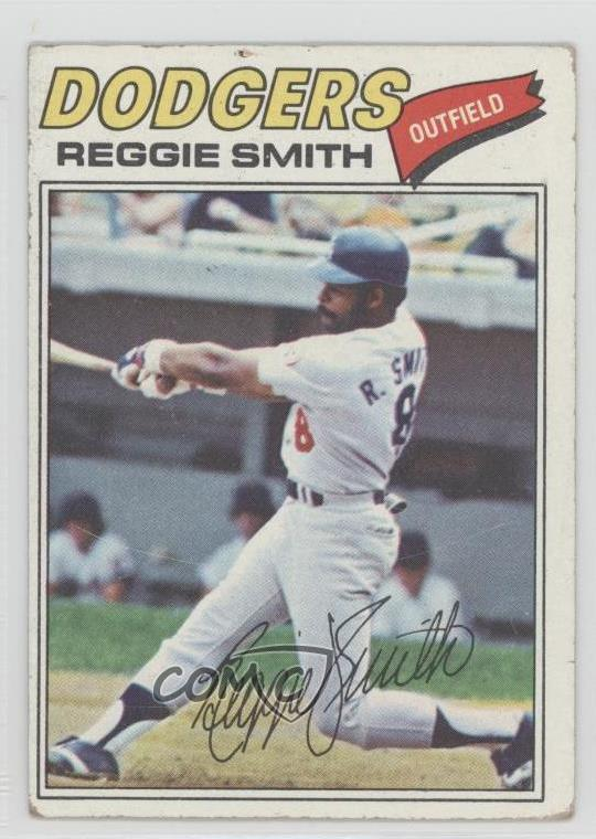 Details About 1977 Topps 345 Reggie Smith Los Angeles Dodgers Baseball Card