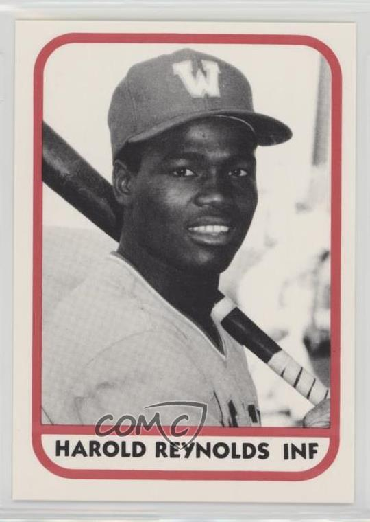 Details About 1981 Tcma Minor League 550 Harold Reynolds Wausau Timbers Rookie Baseball Card
