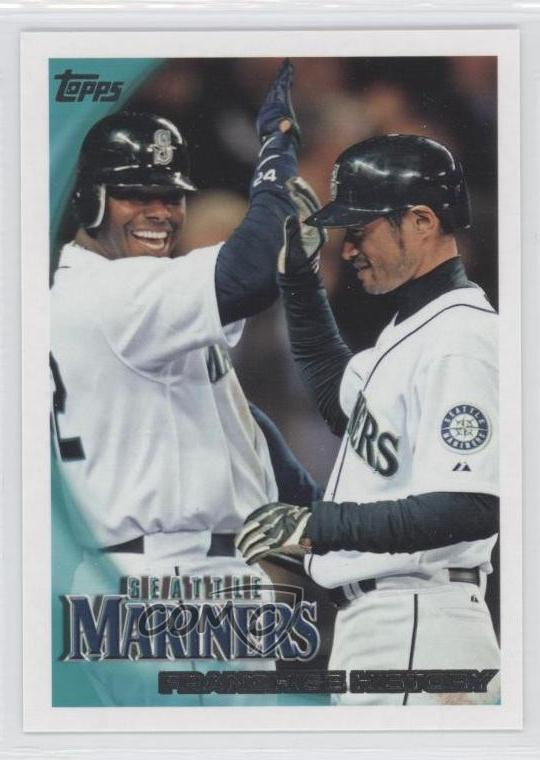 49f479ea3a #515 Seattle Mariners Team, Ken Griffey Jr., Ichiro Suzuki. Representative  Image - Select Specific Item above to see image of actual item