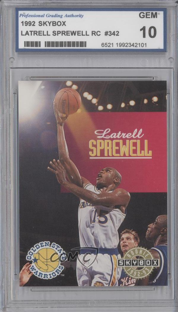 e6233e35f  342 Latrell Sprewell. Representative Image - Select Specific Item above to  see image of actual item