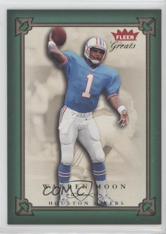 a775c6f9b #61 Warren Moon. Representative Image - Select Specific Item above to see  image of actual item