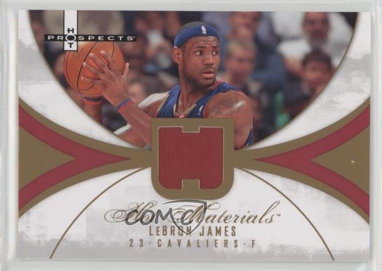 LeBron James 2007-08 Hot Prospects STAT TRACKER Insert Card no.ST-23