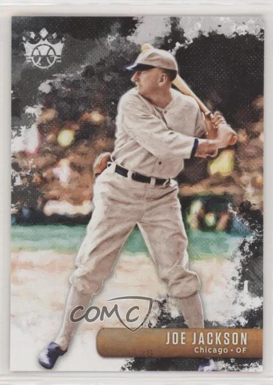 Details About 2019 Panini Diamond Kings 25 Joe Jackson Chicago White Sox Baseball Card