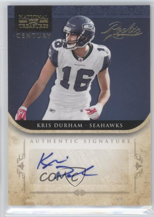 Verzamelkaarten, ruilkaarten 2011 Playoff Contenders Ticket #149 Kris Durham Seattle Seahawks Football Card