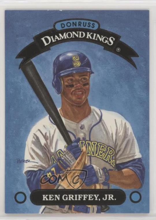 8751edd86e 1993 Donruss - Diamond Kings #DK-1 Ken Griffey Jr. Representative Image -  Select Specific Item above to see image of actual item