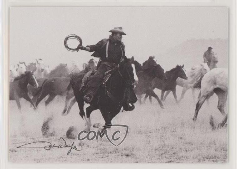 John Wayne SINGLE PROMO TRADING CARD Promo 2 Breygent