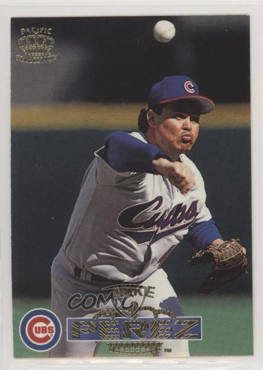 Details About 1996 Pacific Crown Collection 25 Mike Perez Chicago Cubs Baseball Card