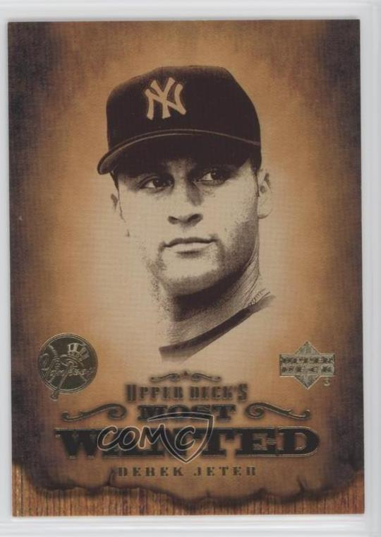Details About 2001 Upper Deck Most Wanted Mw8 Derek Jeter New York Yankees Baseball Card