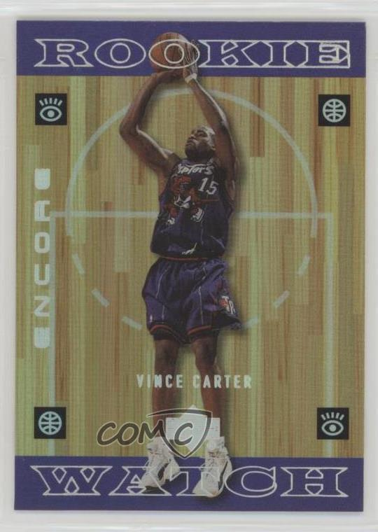 3aee6e1e7c7 #118 Vince Carter. Representative Image - Select Specific Item above to see  image of actual item
