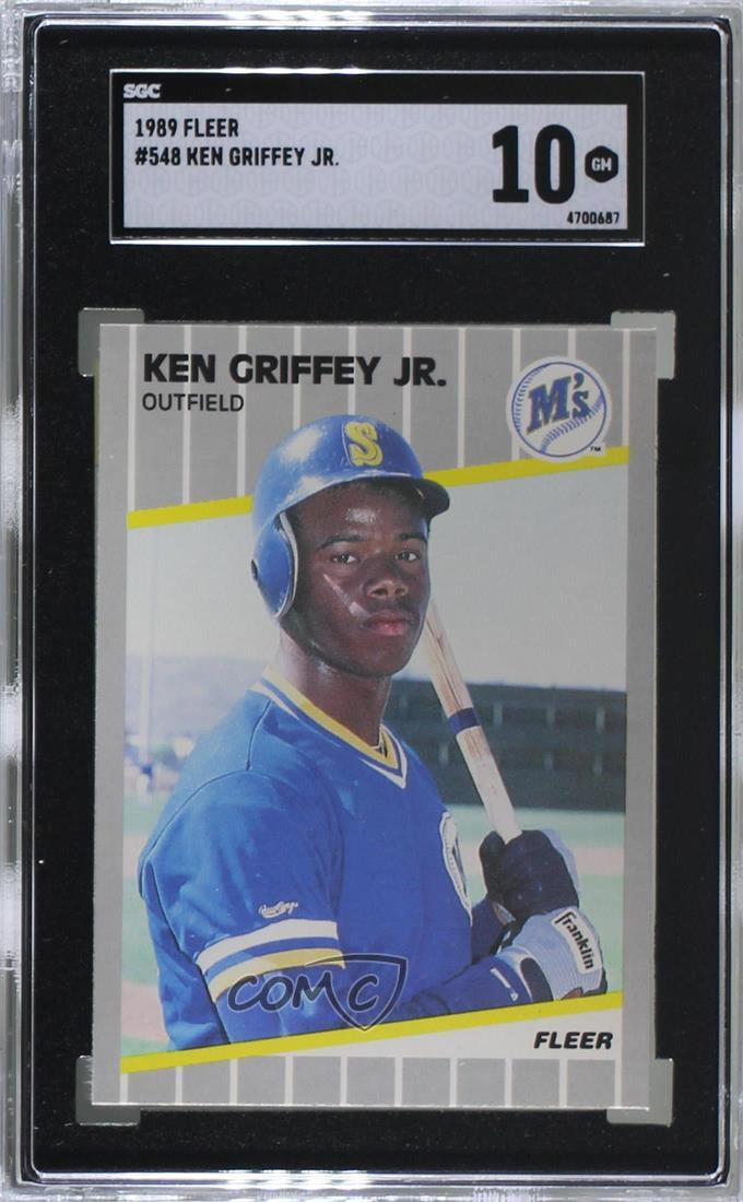 2ce1250e6e 1989 Fleer - [Base] #548 Ken Griffey Jr. Representative Image - Select  Specific Item above to see image of actual item
