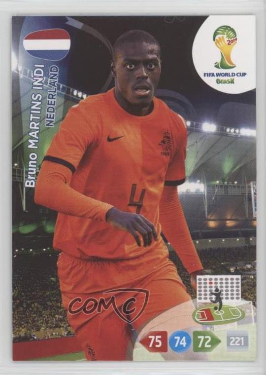 Fußball Mannschaft Niederlande Sammeln & Seltenes Panini Adrenalyn Road to FIFA WORLD CUP 2014 Brasil