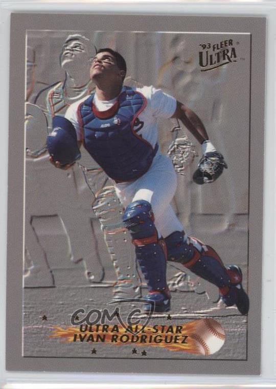 Details About 1993 Fleer Ultra All Stars 11 Ivan Rodriguez Texas Rangers Baseball Card