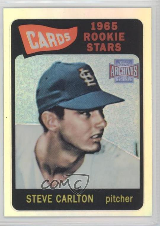 2001 Topps Archives Reserve #13 Steve Carlton St. Louis Cardinals Baseball Card