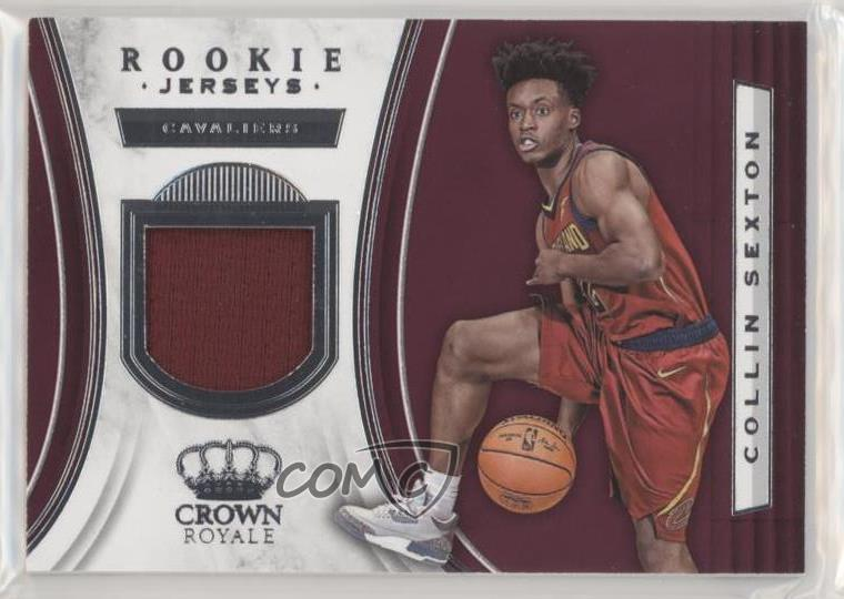 new product 9b127 6389a Details about 2018-19 Panini Crown Royale Rookie Jerseys #RJ-CSX Collin  Sexton Basketball Card