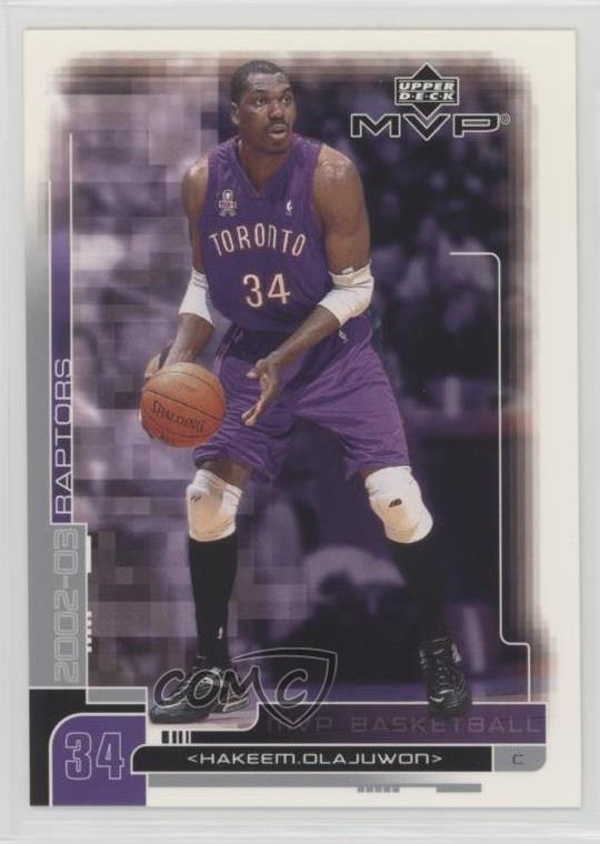 173 Hakeem Olajuwon. Representative Image - Select Specific Item above to  see image of actual item 327d5d281
