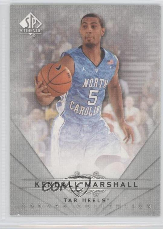 2012 SP Authentic Canvas Collection Autographs #CC-38 Kendall Marshall Auto Card
