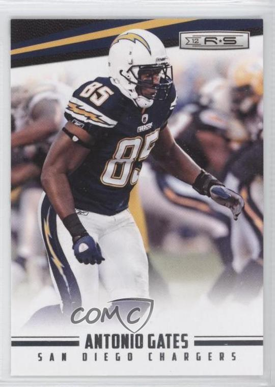 d1a289cc Details about 2012 Panini Rookies & Stars #121 Antonio Gates San Diego  Chargers Football Card