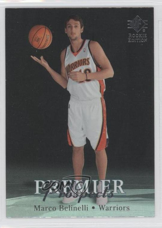 new concept 584f3 6e1b1 Details about 2007-08 SP Rookie Edition #163 Marco Belinelli Golden State  Warriors RC Card