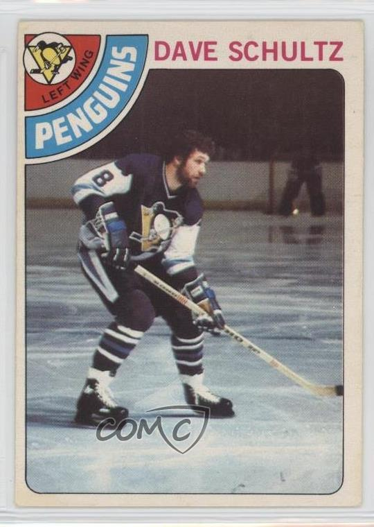 official photos 878a0 f8623 Details about 1978-79 O-Pee-Chee #225 Dave Schultz Pittsburgh Penguins  Hockey Card