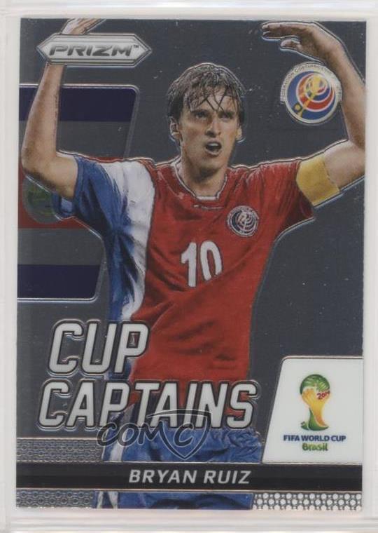 PRIZM WORLD CUP 2018 Mojo parallèle Base Carte #47 BRYAN RUIZ-Costa Rica