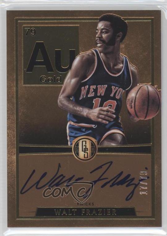2016 Panini Gold Standard AU Autographs #AU-RH Robert Horry Auto Basketball Card Verzamelingen