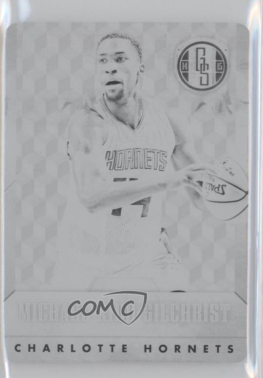 9c06b67b5 2014-15 Panini Gold Standard -  Base  - 14-15 National Treasures Printing  Plate Black  124 Michael Kidd-Gilchrist. Representative Image - Select  Specific ...