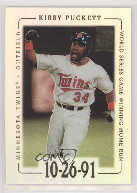 74b2eddc6f0 #17 Kirby Puckett. Representative Image - Select Specific Item above to see  image of actual item