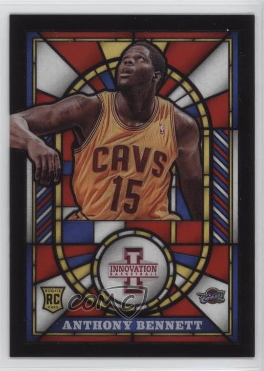 Verzamelingen Verzamelkaarten, ruilkaarten 2013-14 NBA Hoops Gold #261 Anthony Bennett Cleveland Cavaliers Basketball Card