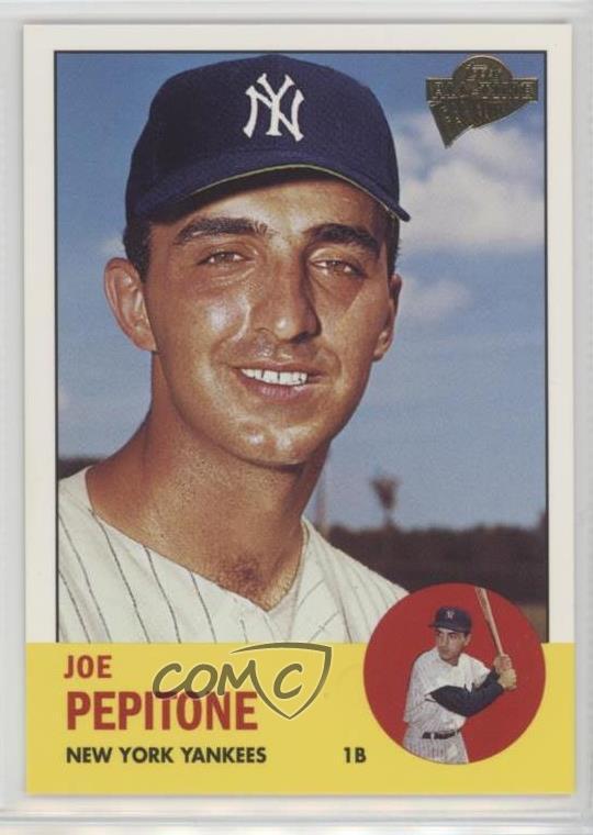 Verzamelingen Verzamelkaarten, ruilkaarten 1965 Topps #245 Joe Pepitone New York Yankees Baseball Card