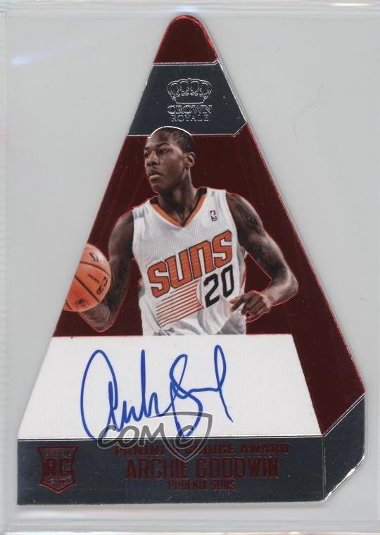 Verzamelingen Verzamelkaarten: sport 2013 Panini Gold Standard #227 Archie Goodwin Phoenix Suns Auto Basketball Card