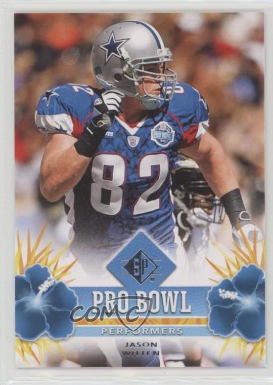 new styles cdbcb 2f420 Details about 2008 SP Authentic Pro Bowl Performers Retail #PBP-26 Jason  Witten Dallas Cowboys