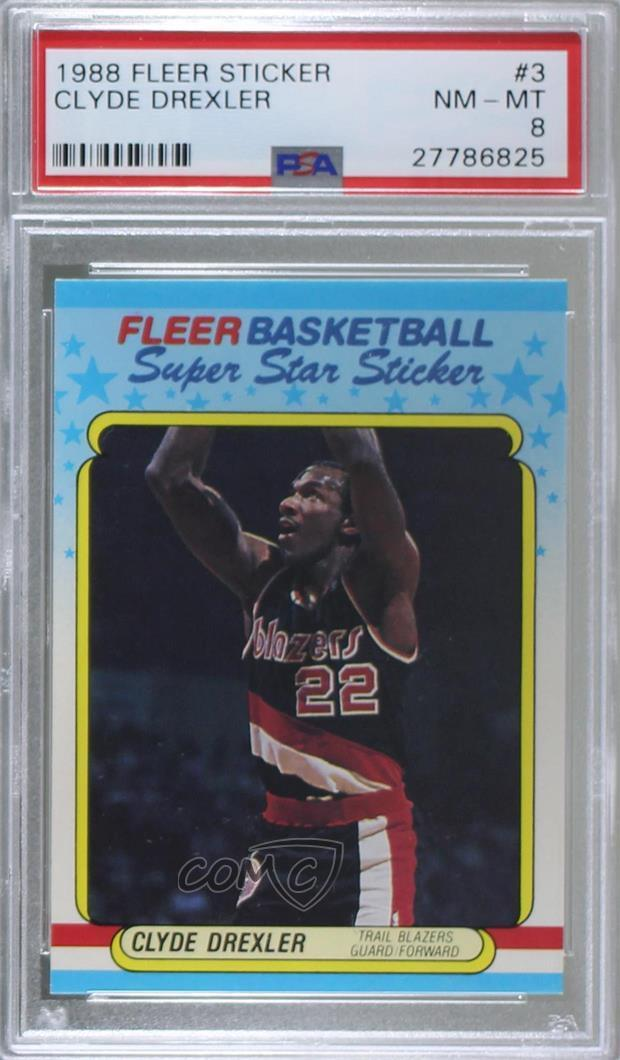 3 Clyde Drexler. Representative Image - Select Specific Item above to see  image of actual item 871065676