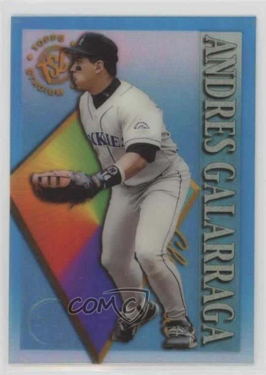 Details About 1995 Topps Stadium Club Clearcut Members Only 23 Andres Galarraga Baseball Card