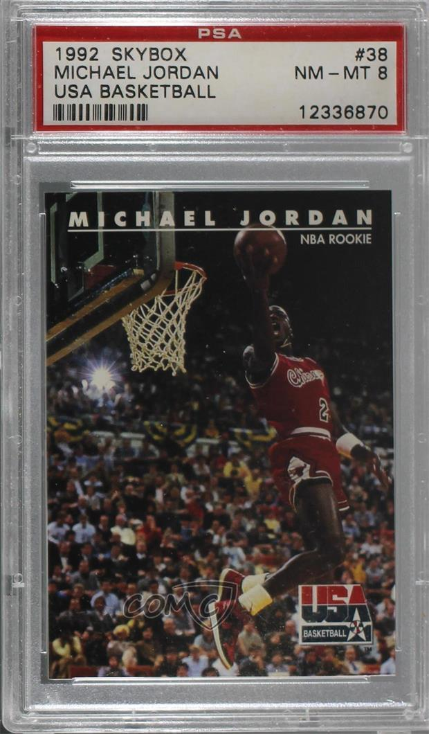 8cc88ba9df62dd  38 Michael Jordan. Representative Image - Select Specific Item above to  see image of actual item