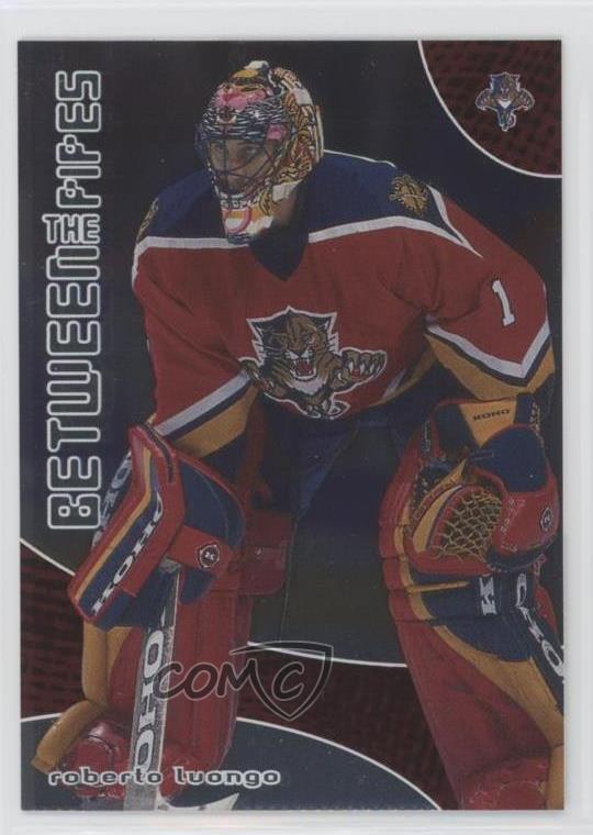 2001 02 In The Game Be A Player Between Pipes 33 Roberto Luongo