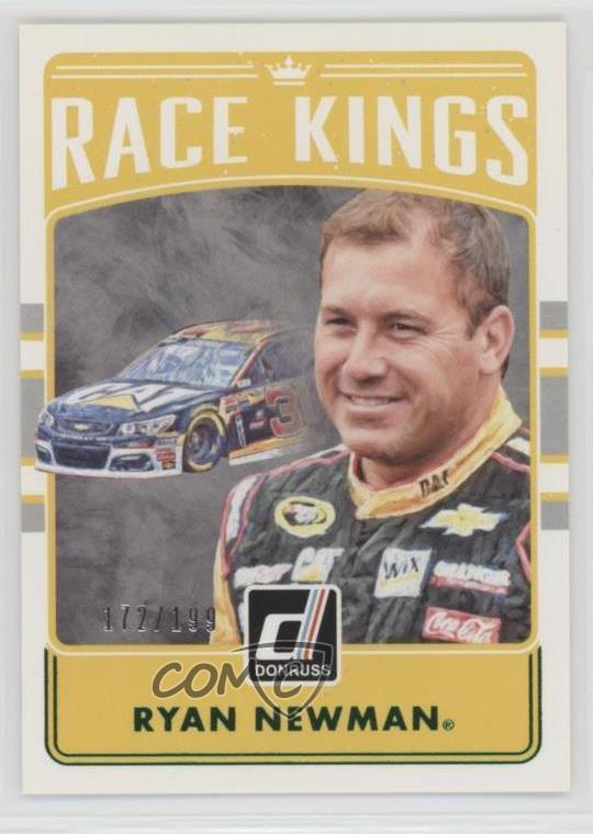 2017 Panini Donruss NASCAR #114 Ryan Newman Duals Racing Card